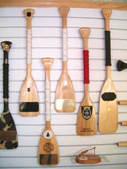 Item # 12109) 6' Military Oar Plaques $180.00 (Engraving and or ...