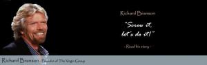 Author: Richard Branson . Go Deeper | Website