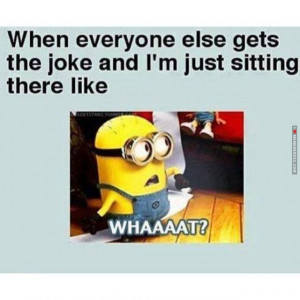Irritated MInion??