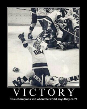 Victory! USA's Miracle on ice :)