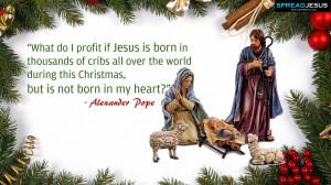 christ christmas brings you joy christmas crib birth of jesus