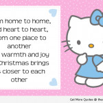 Christmas Hello Kitty Quotes