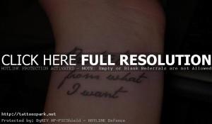 wrist tattoo quotes ideas wrist tattoo quote for women wrist tattoo ...