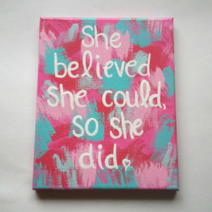 Canvas With Quotes For Teenagers Room Quotesgram