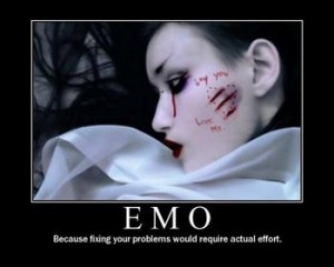 all emo people cut thats wat they'r meant 2 do!