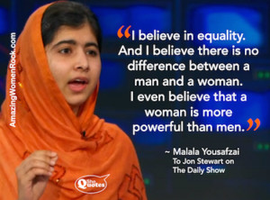 shequotes malala on equality and feminine power # quotes # equality