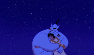 this is only the first quote. Genie shows Aladdin that true friends ...