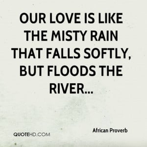 Our Love Is Like Quotes