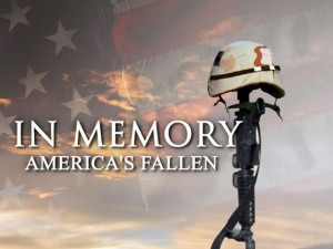 ... the fallen soldiers who gave the ultimate sacrifice for our freedom