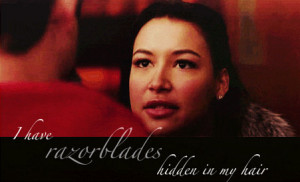 Favorite Santana Lopez Quotes (GLEE)