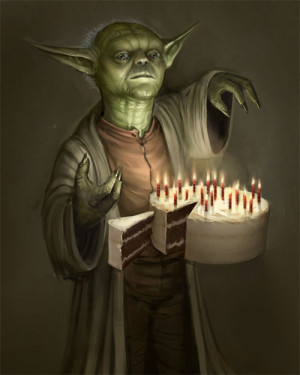Birthday Yoda