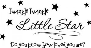 little star do you know how loved you are? cute wall quotes sayings ...