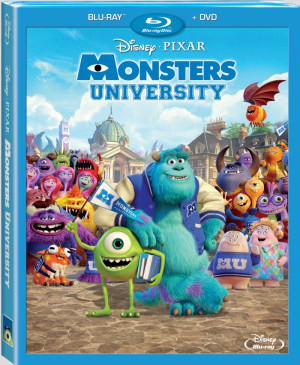 Monsters University (US - DVD R1 | BD RA)