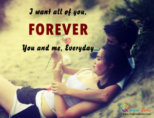 You and Me Forever Love Quotes