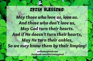 Favorite Irish Blessings