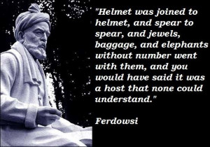 Ferdowsi quotes 1