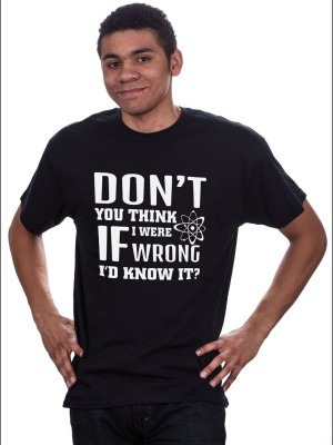 Printed T-shirts Quotes For Men Black