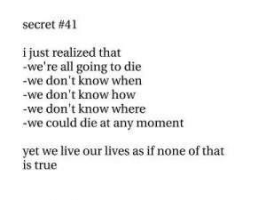 reality,of,life,life,die,death,live,quote ...
