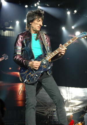 ronnie wood quotes it s an awful world out there you ve got to make ...