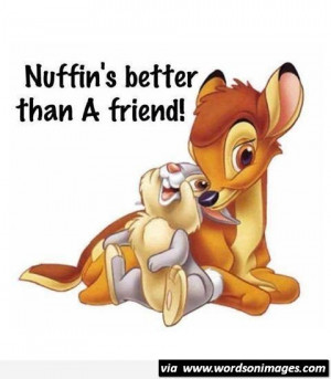 Nuffins better quotes cute friendship quote disney best friends