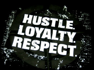 All Graphics » HUSTLE LOYALTY RESPECT