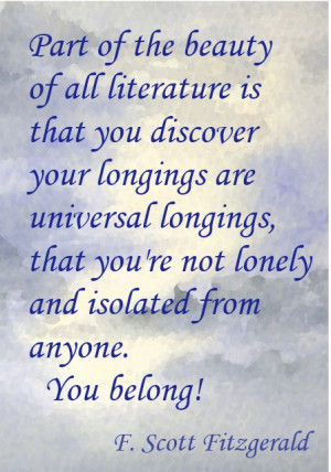 the beauty of literature...
