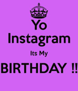 Instagram Its Birthday Keep