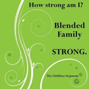 Blended family STRONG.
