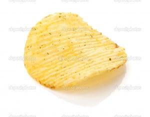 Potato Chips Cartoon Stock