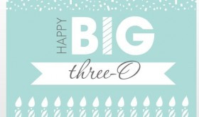 30th Birthday Ideas — 30 Ways to Celebrate Turning 30