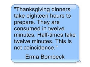 Thanksgiving Day Quotes – From Inspiring to Funny