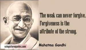 Mahatma-Gandhi-Forgiveness Quotes