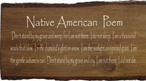 Native american poem