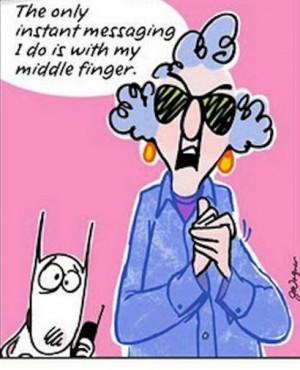 2e39044677c65e95ccbb9c8e96e7e956 Hilarious Maxine Cartoon LOL!