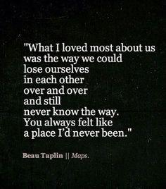 beau taplin more heart felt maps beau taplin quotes poetic places i d ...
