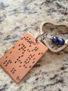 Court Reporter Keychain written in your steno theory - personalize ...