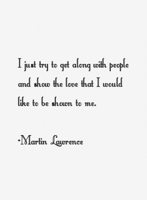 Martin Lawrence Quotes & Sayings