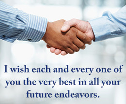Farewell Message Co Worker
