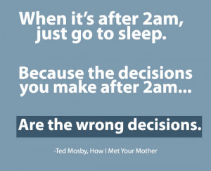 Related Ted Mosby Quote From How I Met Your Mother – When It's ...