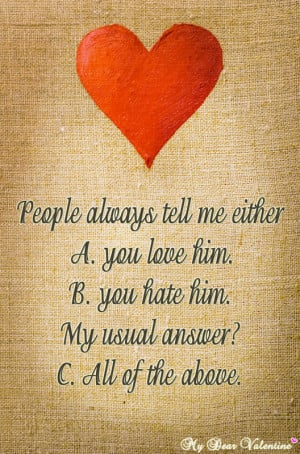 Best collected Love Quotes For Him