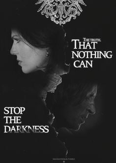That nothing can stop the darkness.