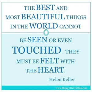 Granddaughter quotes, cute, love, sayings, hellen keller