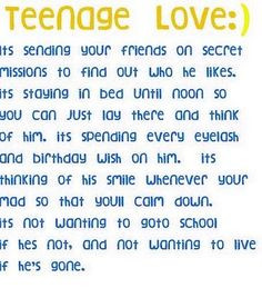 teenage middle school love lol sooo true more teenagers crushes quotes ...