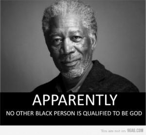 Morgan Freeman #god