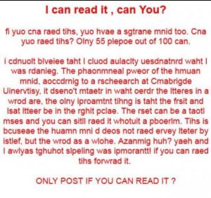Read backwards