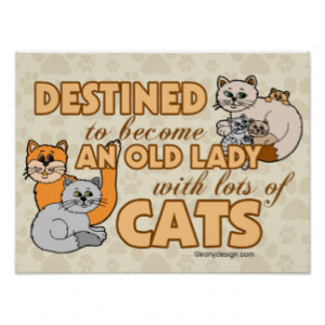 Crazy Cat Lady Quotes Funny