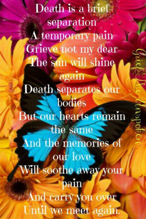 Until We Meet Again...Cartoons Funny Quotes Words, Butterflies, Death ...