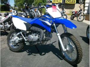 2012 Yamaha 110 Dirt Bike