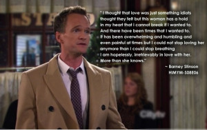 Love Barney and Robin!