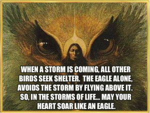 Soar like an eagle...